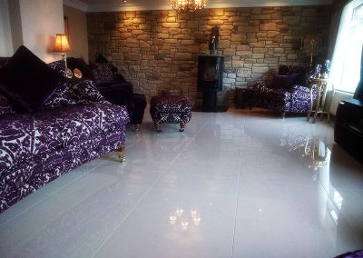 Living Area Tiling